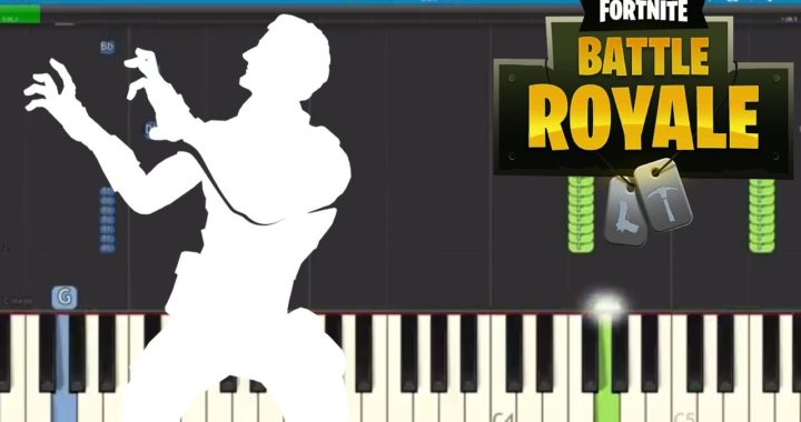 Fortnite Dances – Reanimated Piano Tutorial – How to play ...
