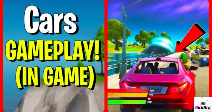 Where Are The New Cars In Fortnite New Cars Gameplay In Game Driving Fortnite Chapter 2 Season 3 Fortniteros Es