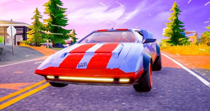 New Whiplash Exotic Sports Car Driving Open World Free Roam Gameplay Fortnite Chapter 2 Season 3 Fortniteros Es