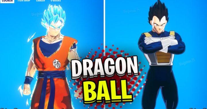 Va a salir en la skin oculta Son Goku de Dragon Ball